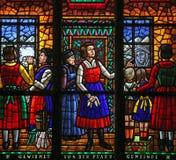 La imagen milagrosa de Maria en Absam Imágenes de archivo libres de regalías