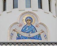 La imagen sagrada de la virgen Fotografía de archivo
