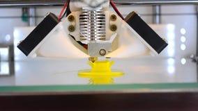 la impresión 3d aislada se opone el primer de la tecnología almacen de metraje de vídeo