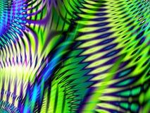 La impresión de la selva raya el modelo Ilustración del Vector