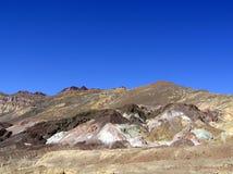 La impulsión del artista en el parque nacional de Death Valley, California Fotografía de archivo