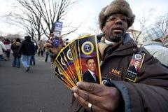 La inauguración presidencial de Barack Obama Fotos de archivo libres de regalías