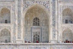 La India, Agra: Taj Mahal Imágenes de archivo libres de regalías