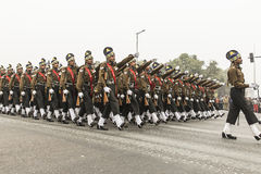 La India celebra el 67.o día de la república el 26 de enero Imagen de archivo libre de regalías