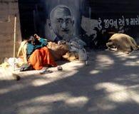 La India de Gandhi Fotografía de archivo libre de regalías