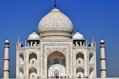 ¼ la India de Taj Mahalï Imagenes de archivo