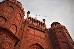 La INDIA, DELHI, la fortaleza roja Fotografía de archivo
