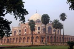La India, Delhi: Tumba de Humayun Fotografía de archivo libre de regalías