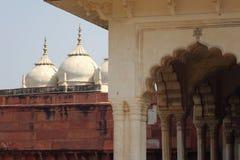 La India: Fortaleza del rojo de Agra Imagen de archivo libre de regalías