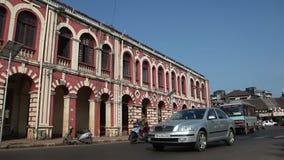 LA INDIA, GOA - 2012: Tráfico en la India
