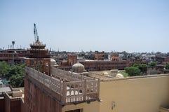 La India Hawa Mahal imagen de archivo