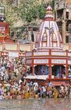 La India Kumbh Mela Imagenes de archivo
