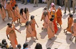 La India Kumbh Mela imágenes de archivo libres de regalías