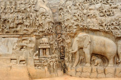 La India Mahabalipuram Imagenes de archivo