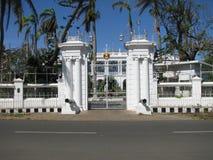 La India Pondicherry Francés la India del gobernador de la casa Imagen de archivo libre de regalías