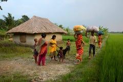 La India rural Fotografía de archivo