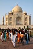 La India: Taj Mahal Foto de archivo libre de regalías