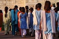 La India: Taj Mahal Imágenes de archivo libres de regalías