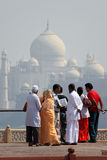 La India: Taj Mahal Imagen de archivo libre de regalías