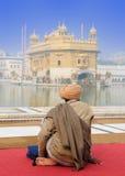 La India - templo de oro Imagen de archivo libre de regalías