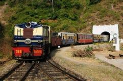 La India, tren del juguete fotografía de archivo libre de regalías