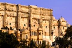 La India, Udaipur: palacio de la ciudad Foto de archivo libre de regalías