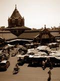La India vieja Fotografía de archivo libre de regalías