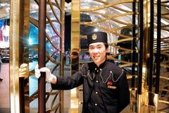 La industria del juego de Macao Foto de archivo