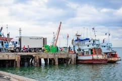 La industria pesquera. Foto de archivo