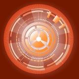 La información cibernética adapta el fondo abstracto libre illustration