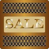 La insignia original para la venta Imágenes de archivo libres de regalías