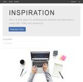 La inspiración creativa innova concepto de la estrategia de la imaginación fotos de archivo libres de regalías