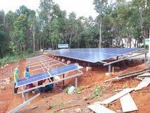 La instalación de Chelsea solar Fotos de archivo
