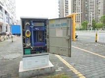 La instalación de comunicaciones de China Mobile Fotografía de archivo