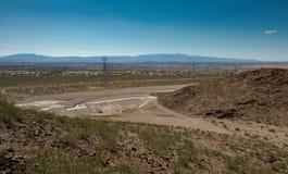 La instalación de control de Clark County Nevada Regional Flood fotos de archivo libres de regalías