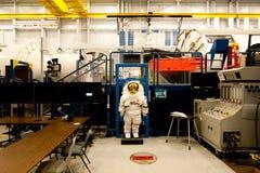La instalación de la maqueta del vehículo de espacio de la NASA Imagen de archivo