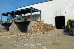 La instalación de la recuperación de los materiales de MRF Fotografía de archivo