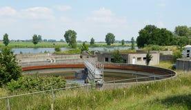 La instalación de la purificación del agua imagen de archivo