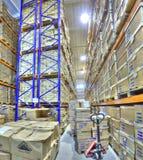 La instalación segura del almacenamiento del documento, archivos de registro del almacenamiento Fotos de archivo libres de regalías
