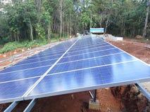 La instalación de Chelsea solar Fotografía de archivo