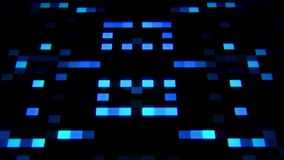 La inteligencia artificial azul AI de la ciencia ficción ajusta el fondo de Loopable almacen de metraje de vídeo