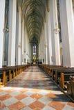 La interior de catedral Munich Munich Frauenkir do de do del de Detalles Fotografia de Stock