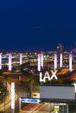 LA international airport Stock Photo