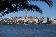 La isla adriática de Korcula, Croatia Imágenes de archivo libres de regalías
