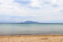 La isla de Aegina Fotografía de archivo