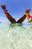 La isla de Asia de la bahía de tao del kho de Tailandia azul limpia Imágenes de archivo libres de regalías