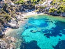 La isla de Brac en Croatia imagen de archivo libre de regalías