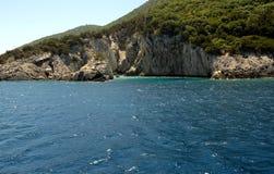 La isla de Kefalonia Grecia Imagen de archivo