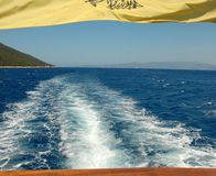 La isla de Kefalonia Grecia Foto de archivo libre de regalías
