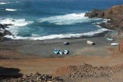 La isla de Lanzarote en las islas Canarias fotografía de archivo libre de regalías